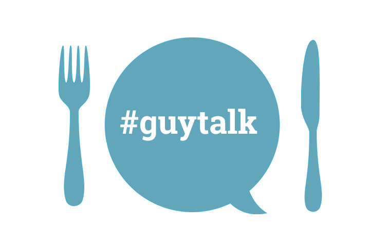 #Guytalk Logotype: Peter Sjöberg